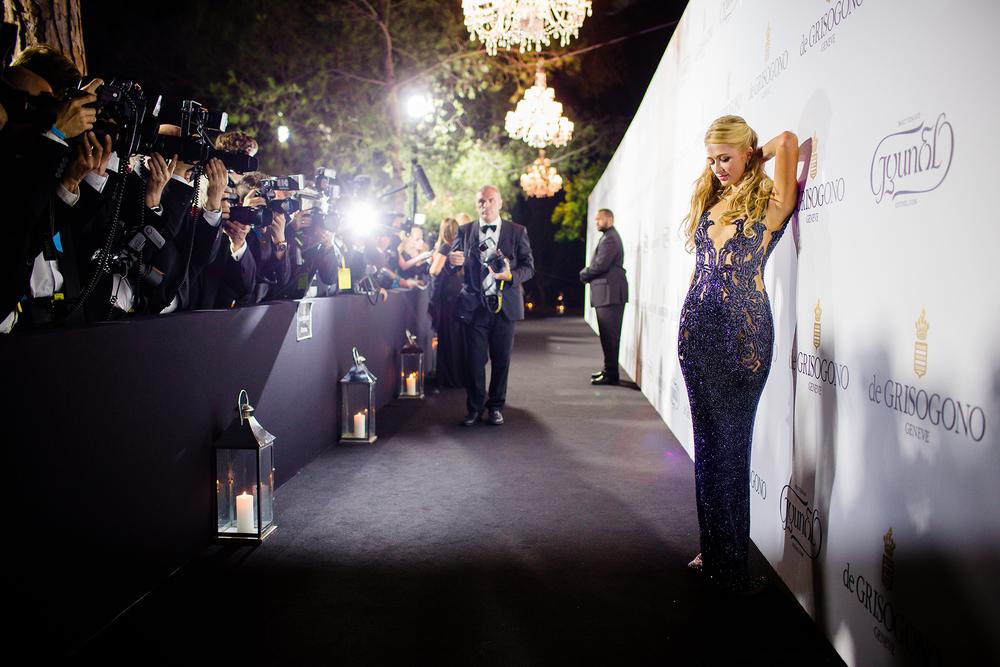 Paris Hilton fotografiert von David Biedert