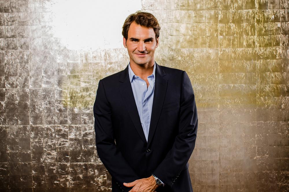 Roger Federer fotografiert von David Biedert