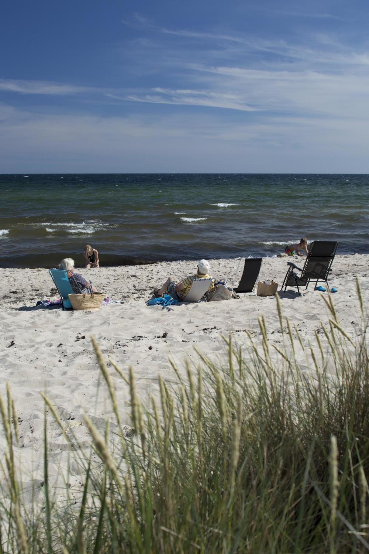 Der Böda Strand. Hier beim eher ruhigeren Homrevet Beach.