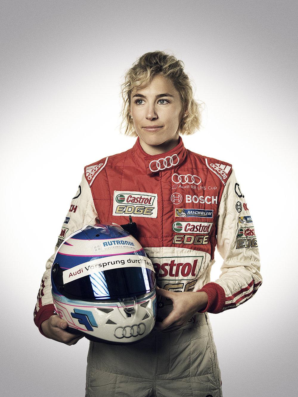 Rahel Frey - eine der besten Rennfahrerinnen der Schweiz.