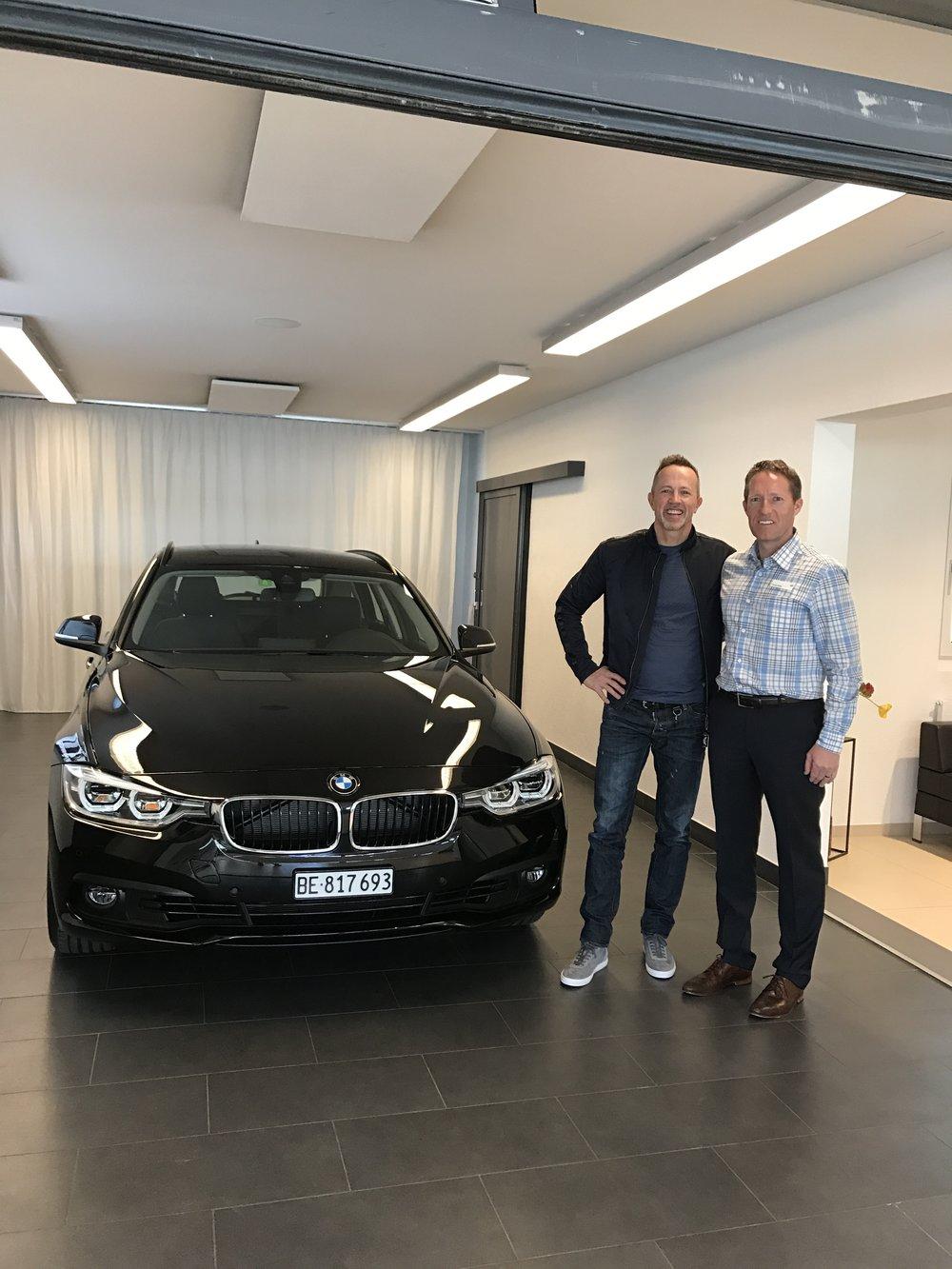 Kein Aprilscherz: im April durfte ich den neuen 3er Drive abholen. Grazie mille Thomas & das gesamte R.Bühler Team Neuenegg!