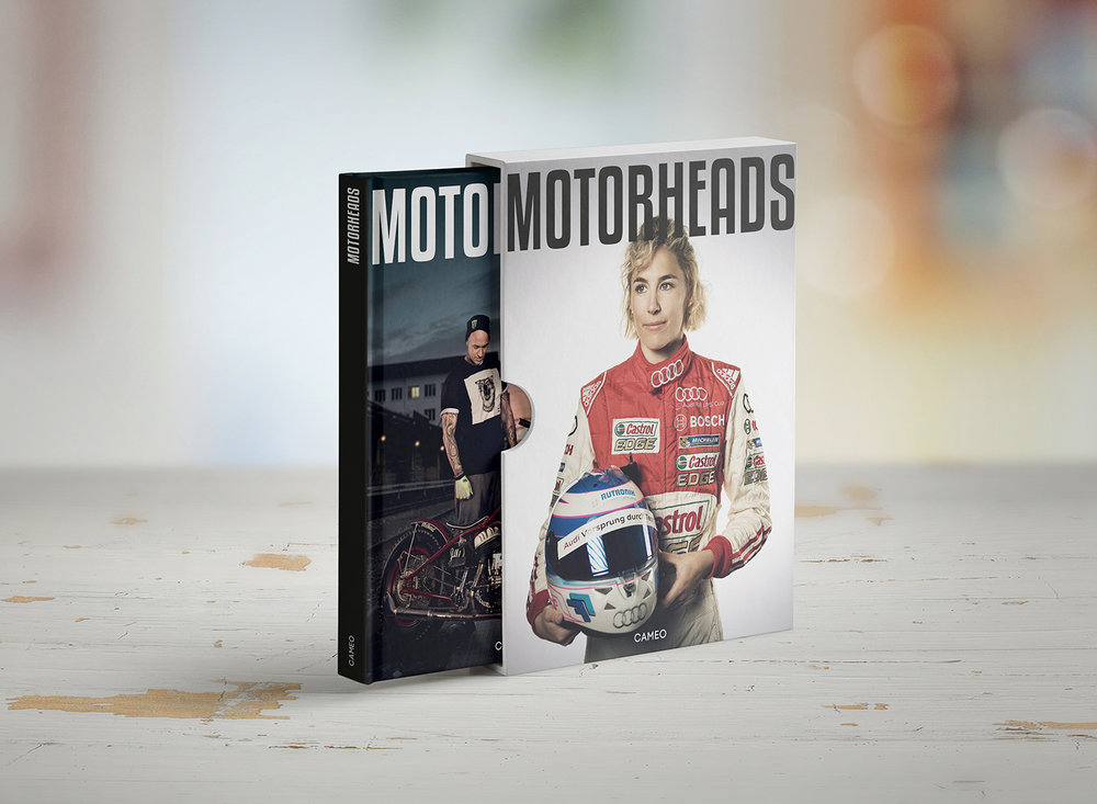 """Das """"Motorheads"""" Buch ist auf 999 Stück limitiert. Nummeriert. Handsigniert (30cm x 24cm)."""