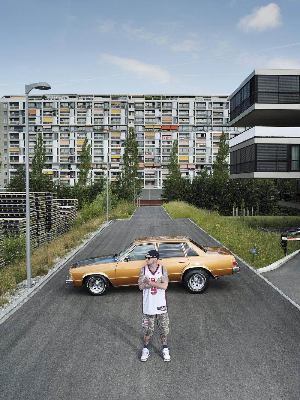 """Motorhead Nick Eggenschwiler. Ein ganz normaler """"Berner Giel"""" mit seiner grossen Passion."""