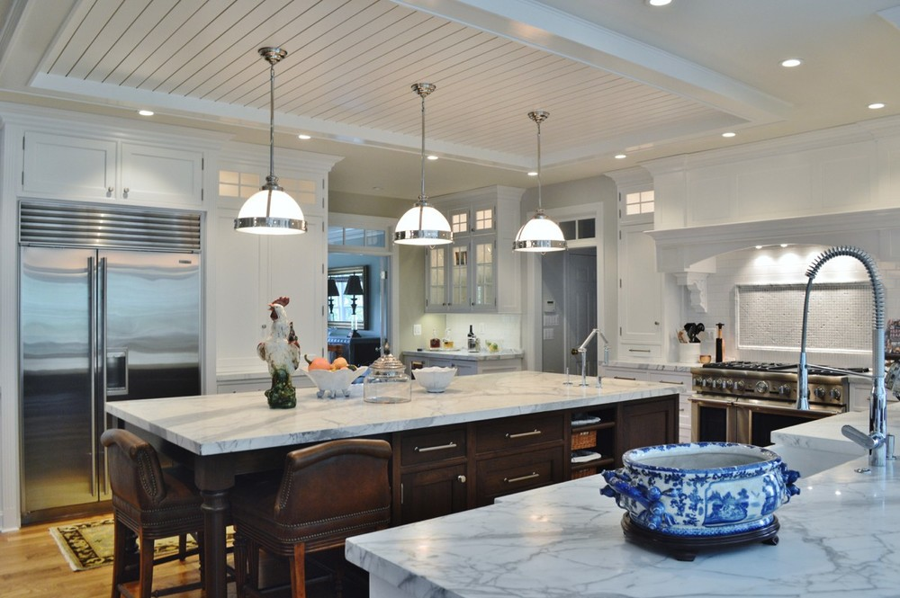 Southern Kitchens Transitional Island