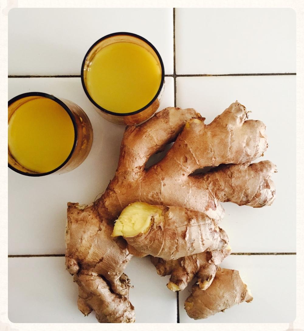 Ginger Shots!
