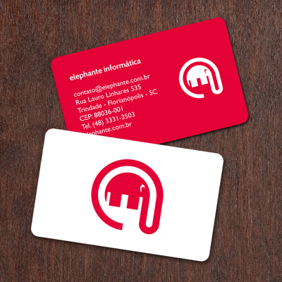 Business cards and postcards monkey 17 printed business card elephanteg reheart Images