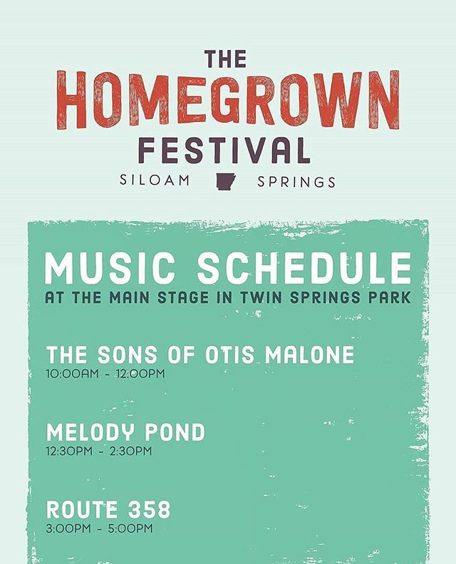 We're big fans of the @homegrownfestar ! This is our third year playing this festival and we always have a good time. Come join us this Saturday! We kick off the day with music from 10am - Noon.  If you simply can't wait until then to hear us, then come to @28springsrestaurant  Tuesday night at 7!