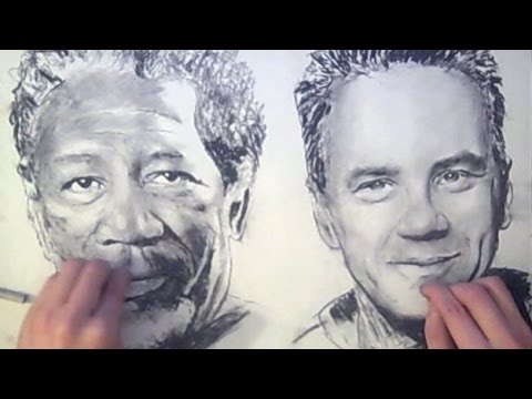 Two handed drawing shawshank redemption ambidextrous