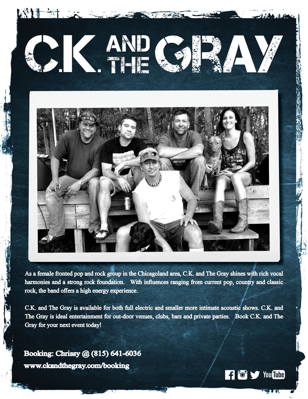 C.K and The Gray Press Card
