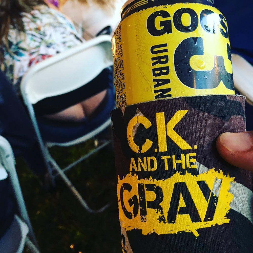 #ckkoozie #ckcancooler - CK and The Gray