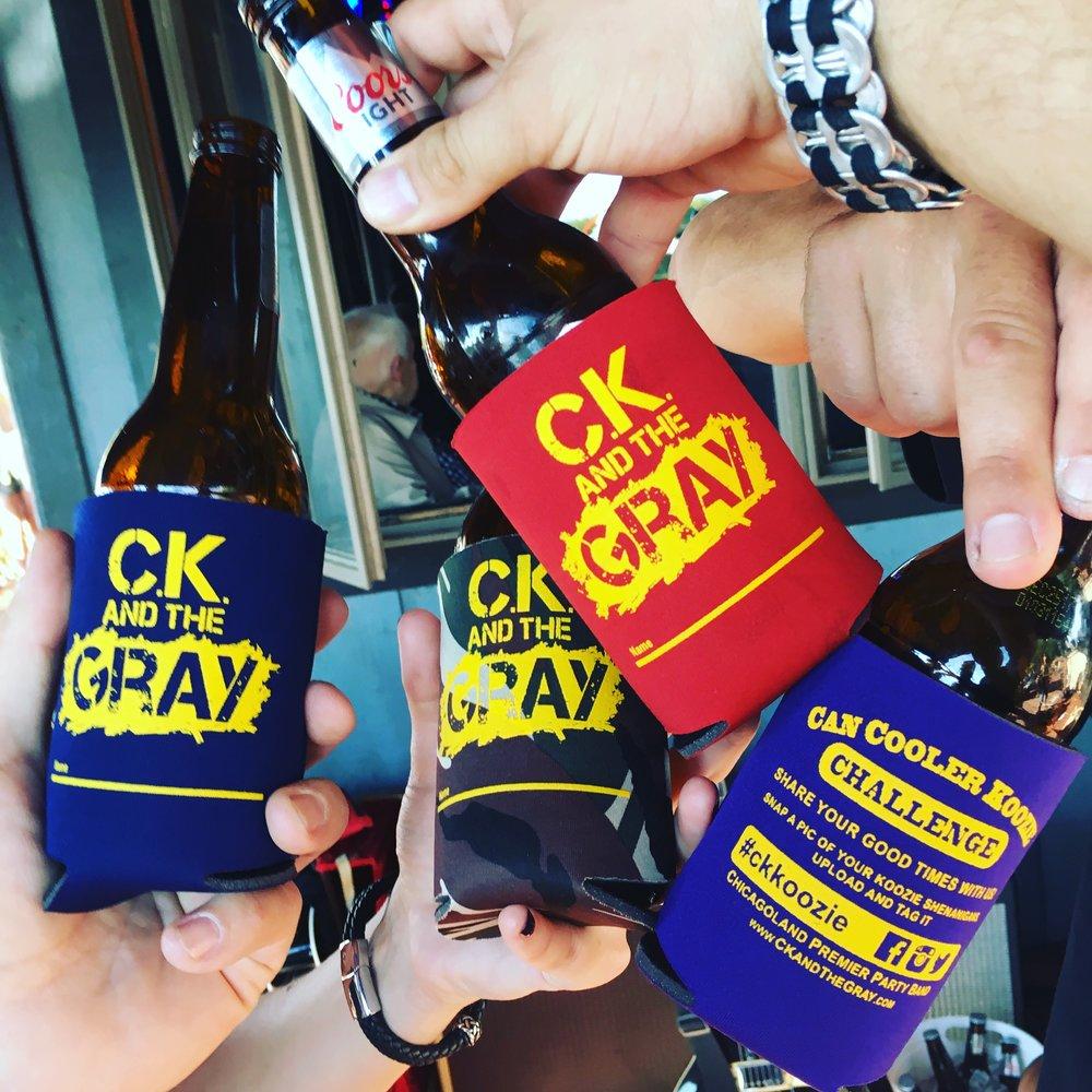 #ckcancooler CK and The Gray #ckkoozie