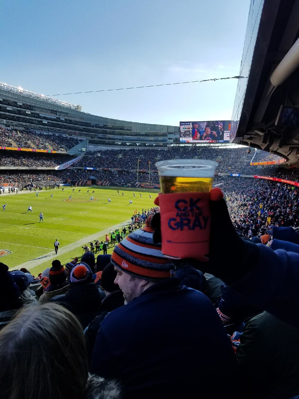 #ckkoozie at Soldier Field