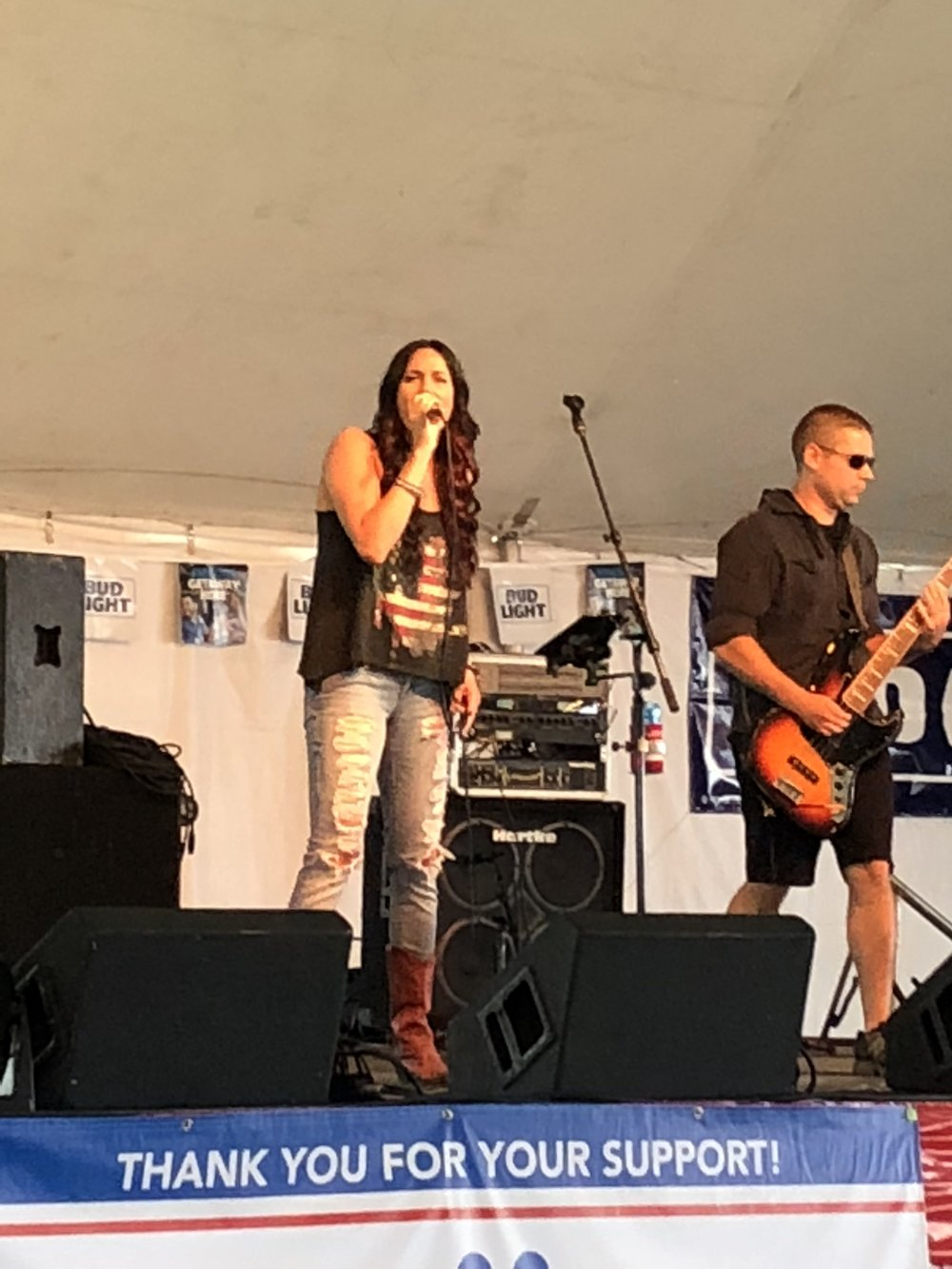 C.K. and The Gray at Homerfest