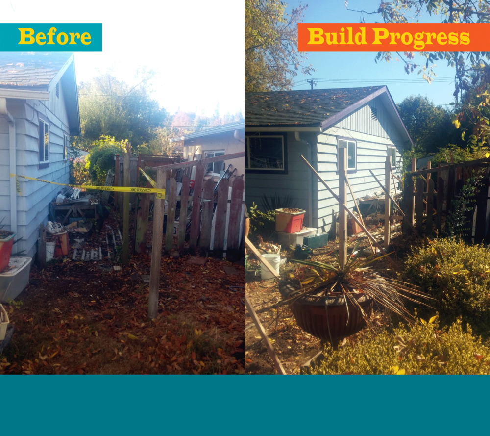 New Fence & Landscaping