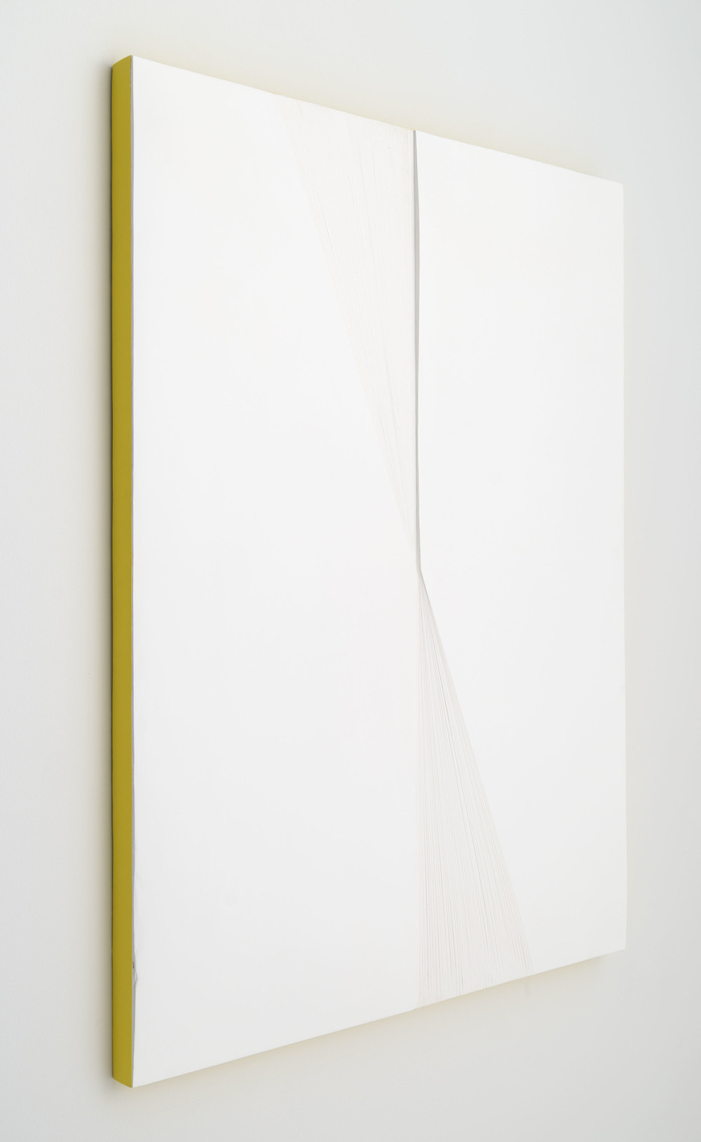 i'm not here, but i was  gesso, acrylic on panel  40 inches x 36 inches  2014