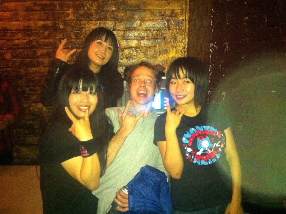 shonen knife. yes, i was pretty excited.