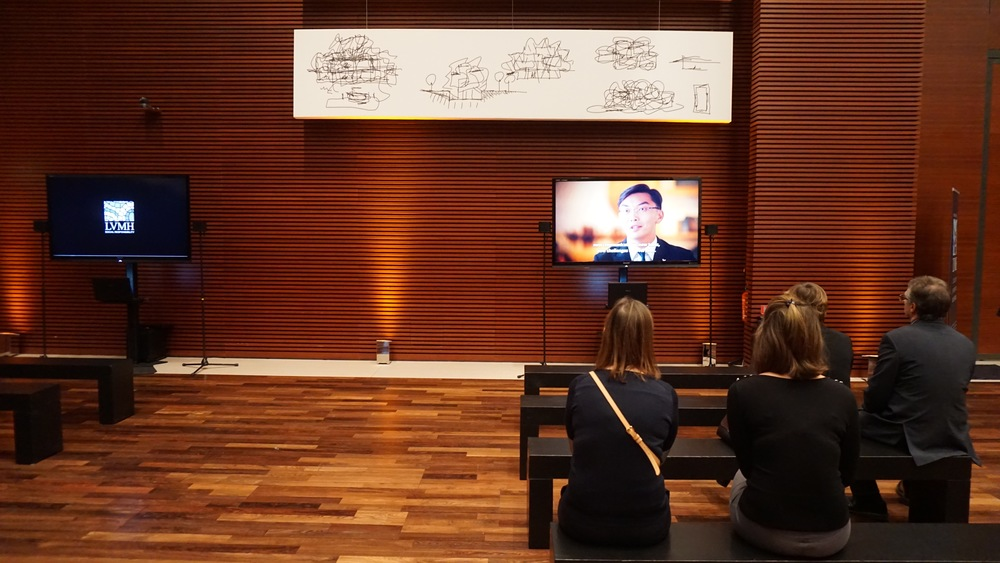 Film screening at the LVMH Headquarters