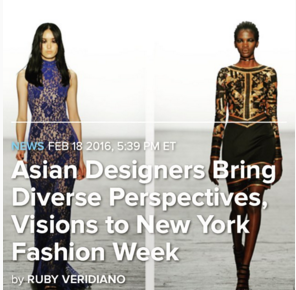 *Check out my     NYFW coverage for NBC here!