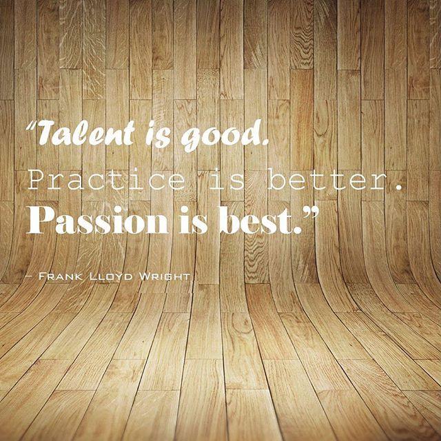 #Mondaywords ✌🏻 #franklloydwright #passion #inspo #eljfinefinishes #alwayshandpaint