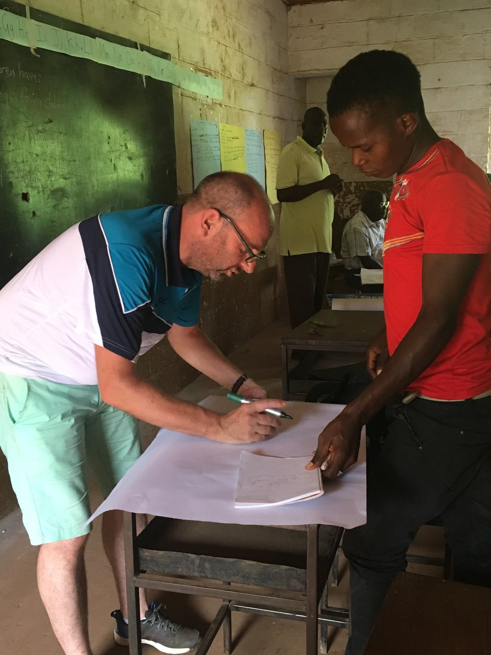 Dave, Teacher Training Experience - Sierra Leone