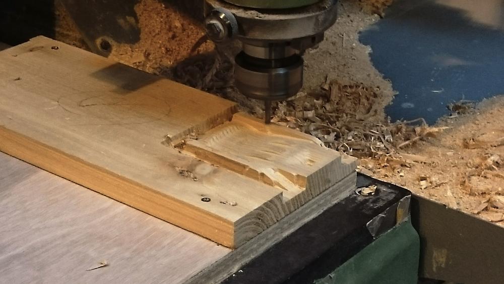 Soap holder CNCing