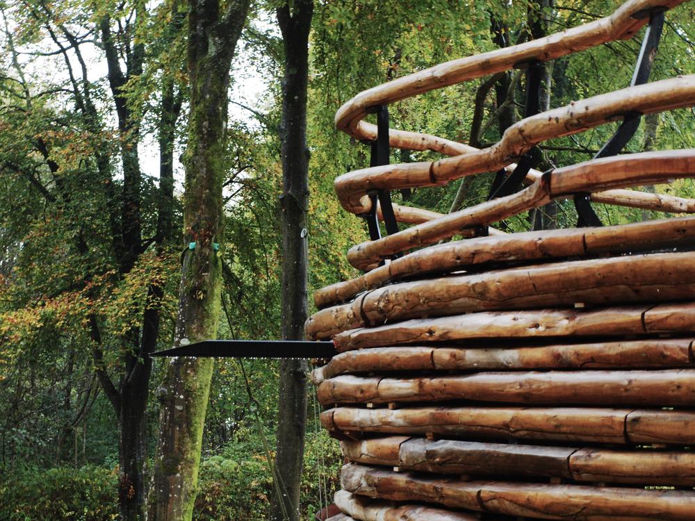 Biomass Boiler house- Drainage detail