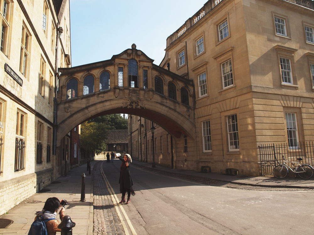 Bridge of Sighs~ There's also one in Cambridge and Venice
