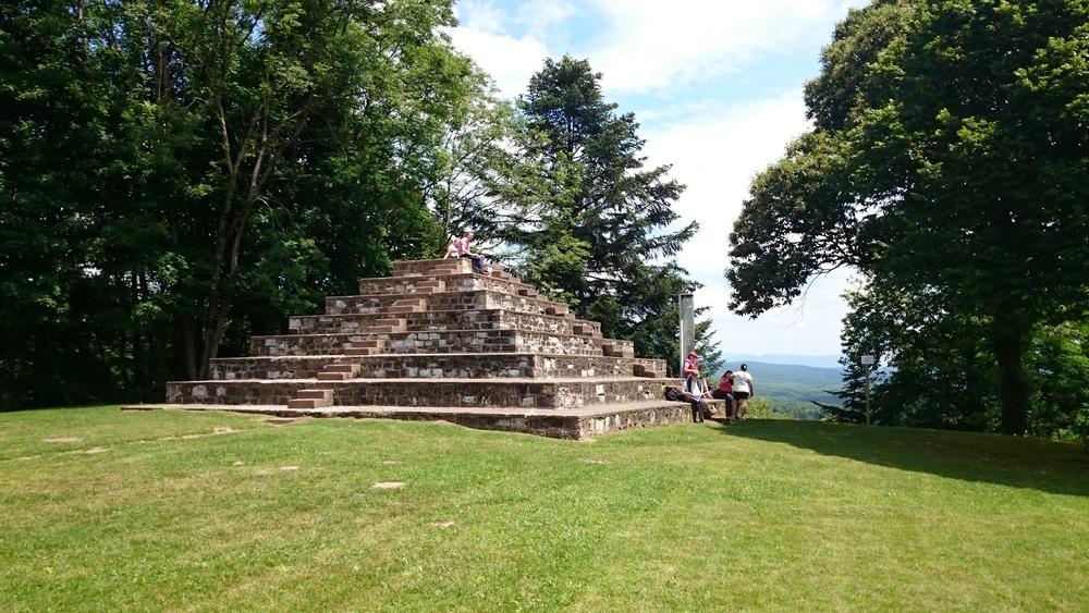 Nearby pyramid