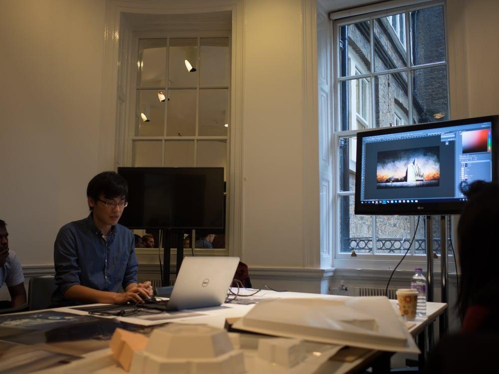 shiwei teaching a render class