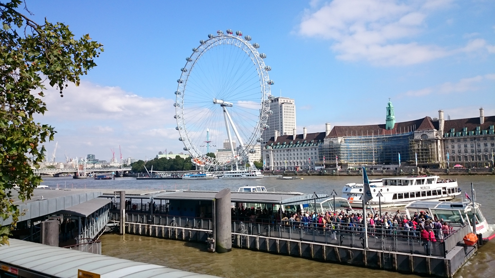 First picture I took in London - London Eye