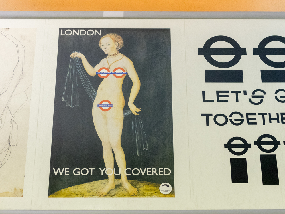 London Tube Ad