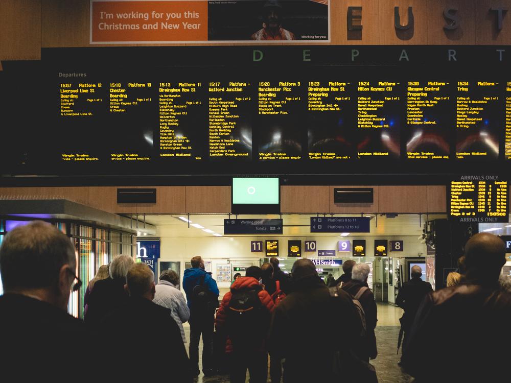 Euston Station - Taking the rail to Watford Junction