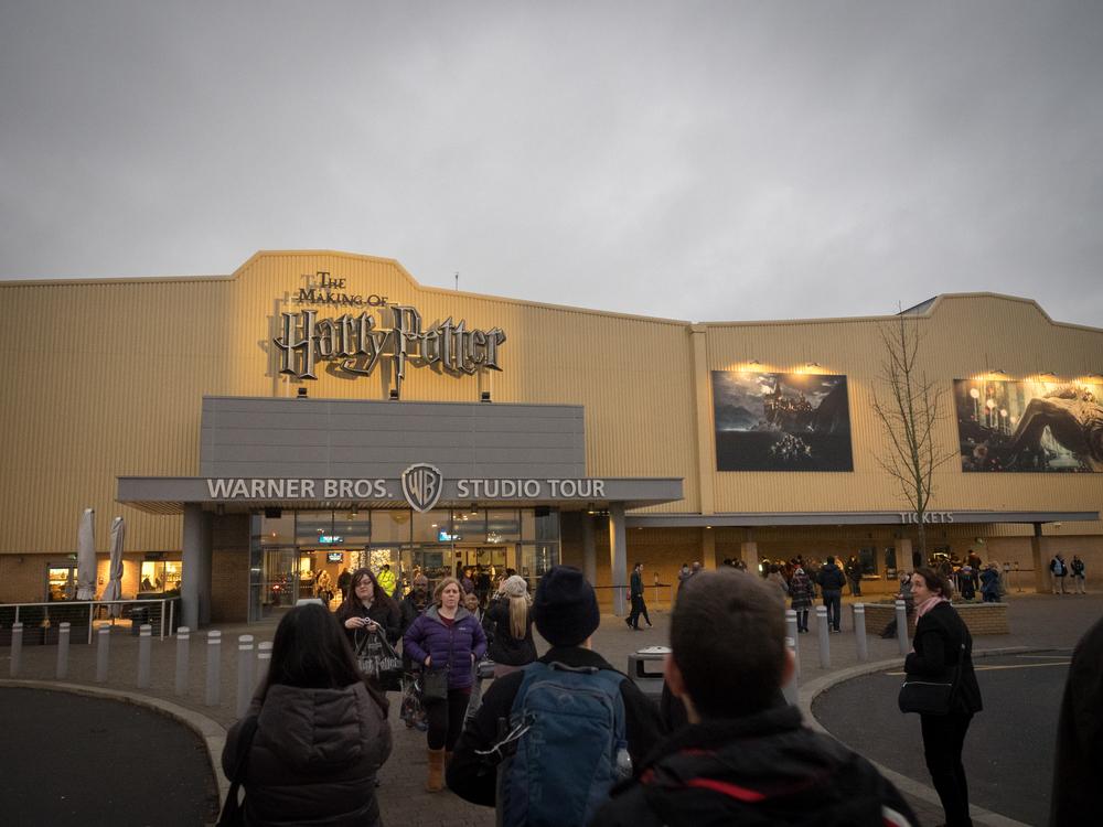 Warner Bros studio entrance!