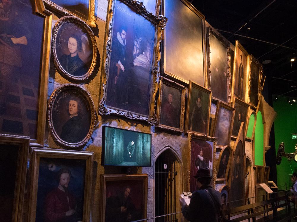 Paintings of Hogwarts