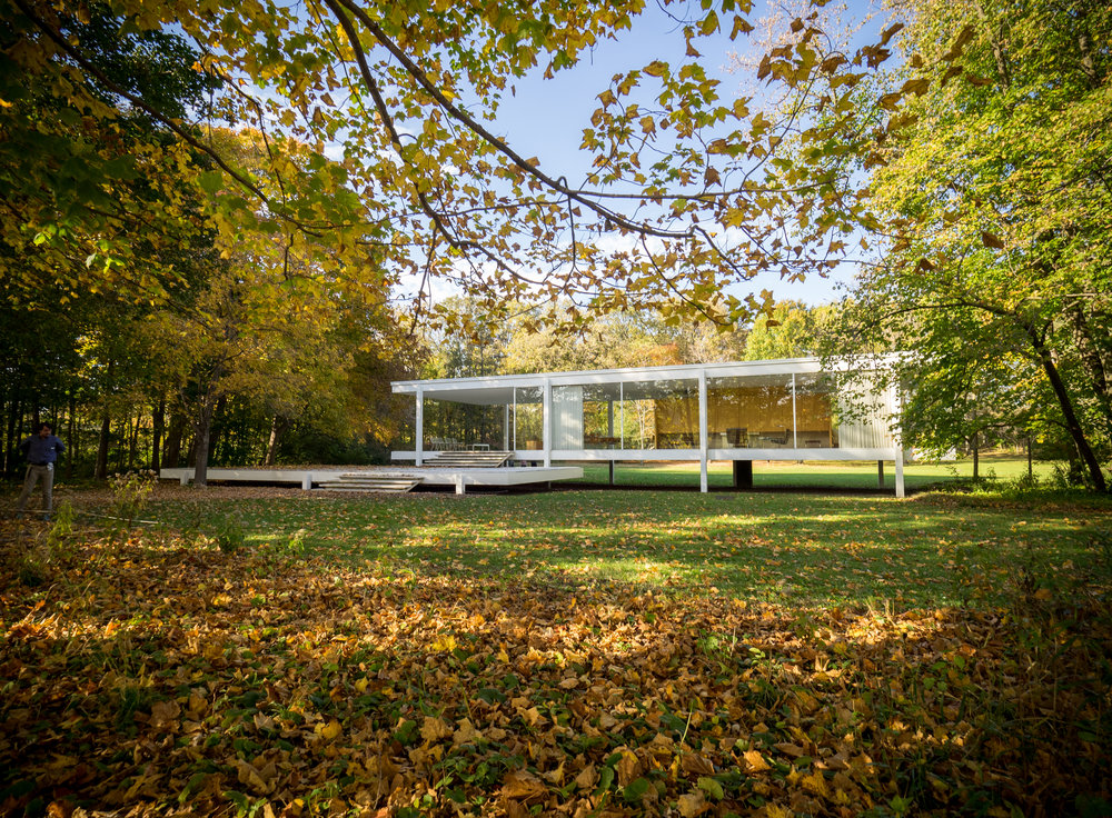 First Look at the Farnsworth House