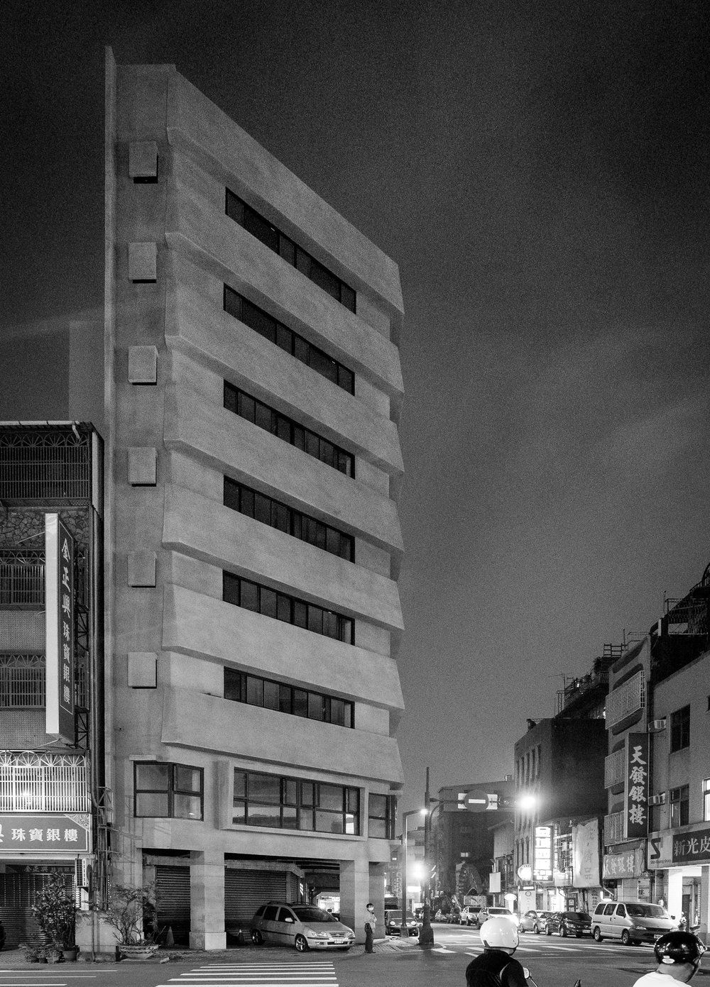Weird corner building
