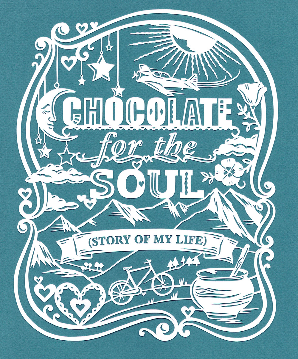 papercut-illustration-chocolate-nature