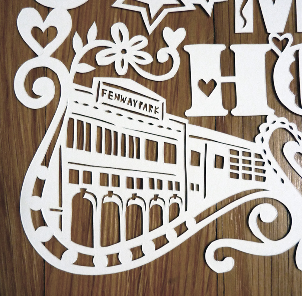 papercut-illustration-fenway-park
