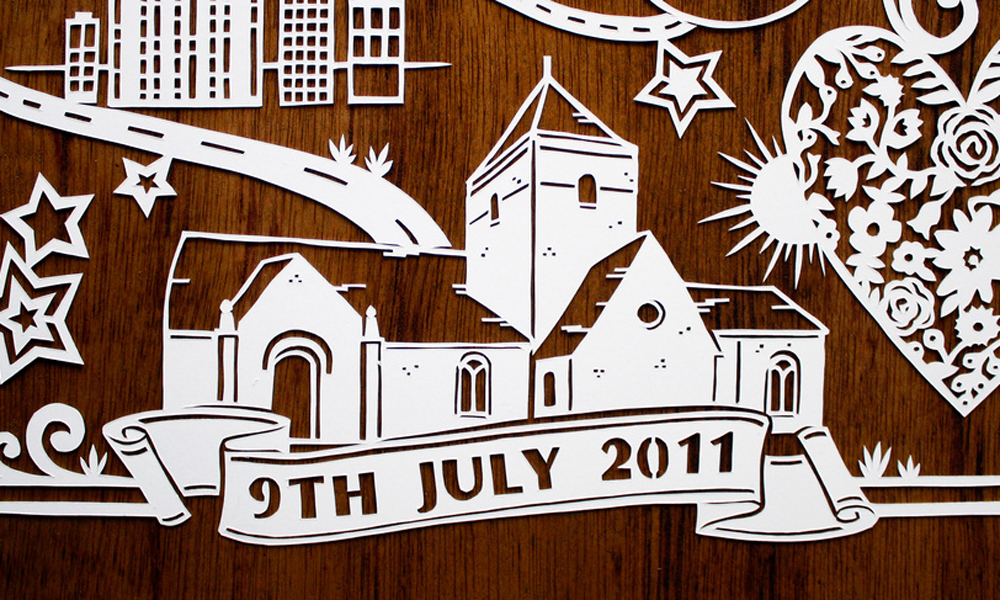 papercut-illustration-church