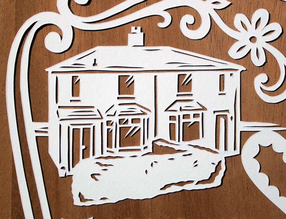 papercut-illustration-house