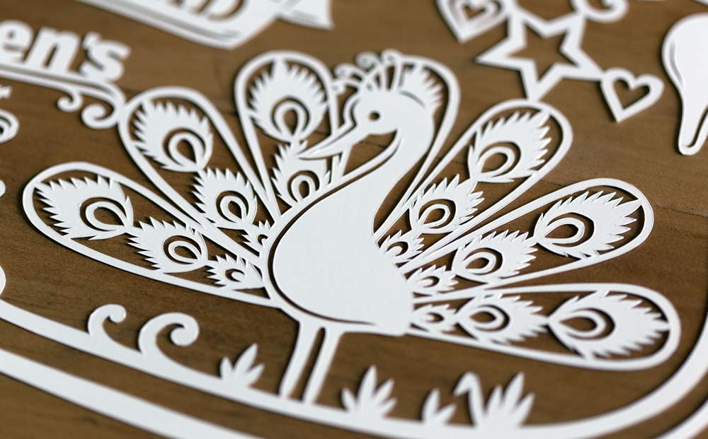 papercut-illustration-peacock