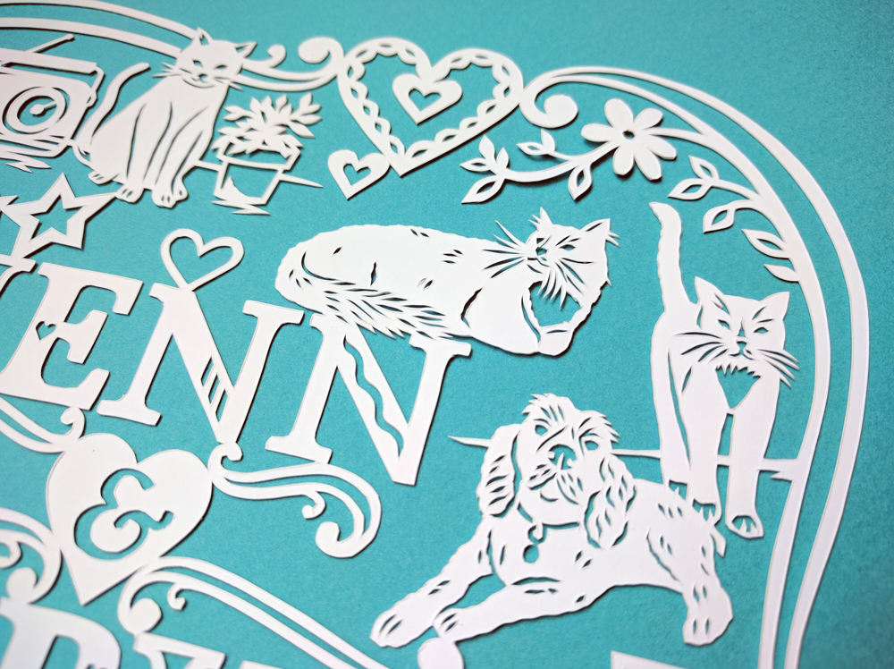 julene-harrison-papercut-illustration-cats-dog