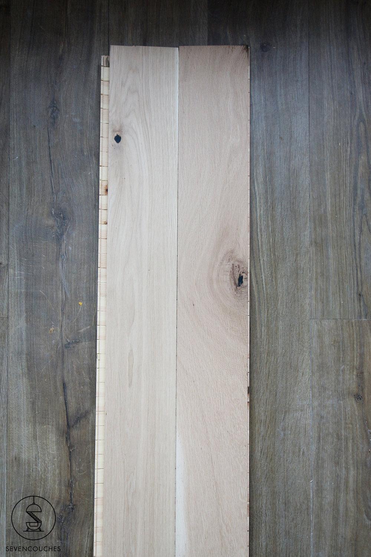 Oud vs. nieuw: laminaat wordt eikenhout