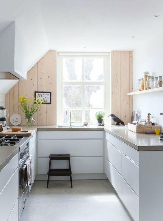 U-vormige keuken