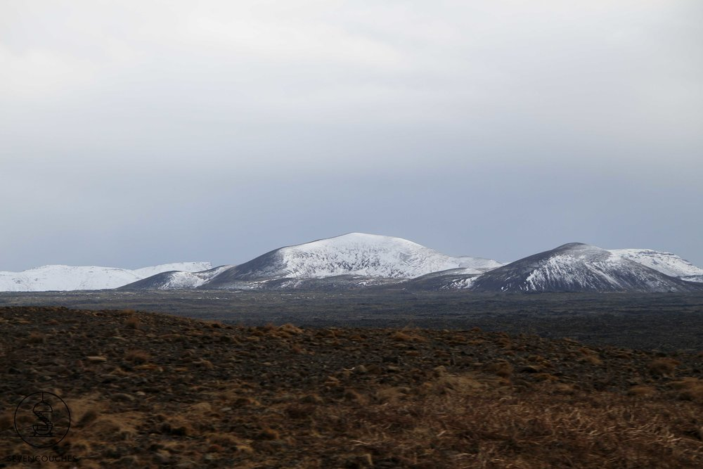 Natuur net buiten Reykjavik