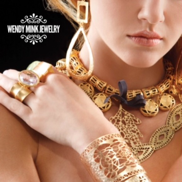 Wendy Mink handmade jewelry including one of a kind necklaces, earrings & bracelets