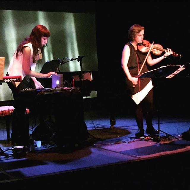 Missy Mazzoli e Olivia DePrato no Festival Rc4!