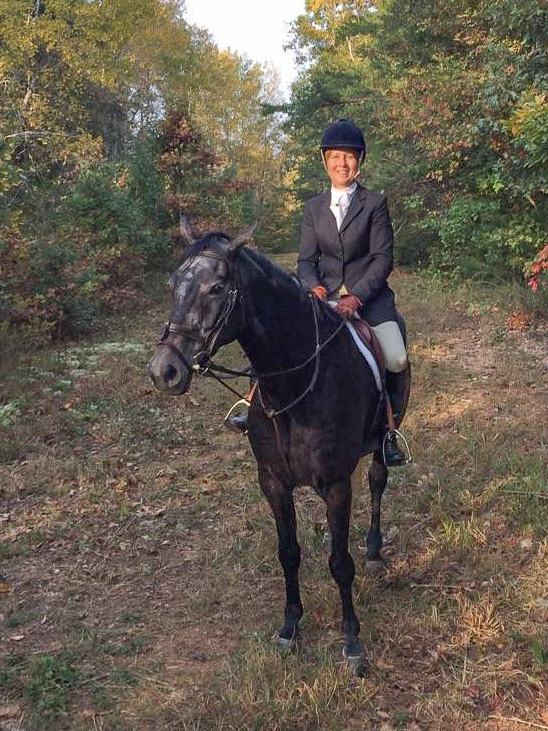 Sue Bopp, EMO Corporate Operations Officer, is also an avid horsewoman and fox hunter.
