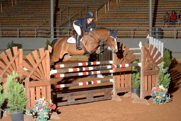 Lauren Hester won last year's $10,000 EMO Jumper Classic with Hester Equestrian's Wender, at the Pensacola Winter Circuit.