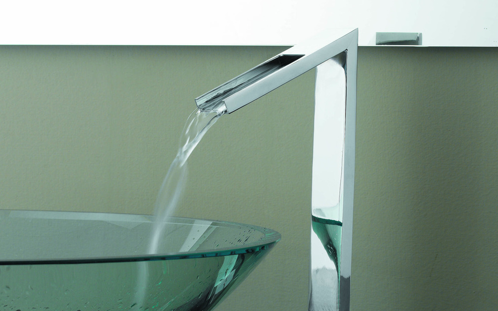 Stylish and functional tap and basin combinations